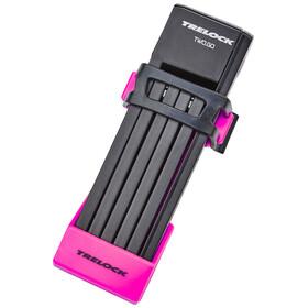 Trelock FS 200/75 TWO.GO Sykkellås 75 cm Rosa
